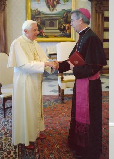 Pope Benedict XVI appointed Birmingham native Archbishop Joseph Marino as papal nuncio to Malaysia on Jan. 16, 2013.