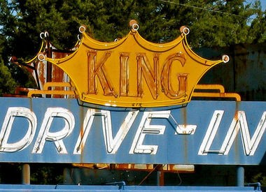 King Drive-In Theater opened in April of 1949 in Russellville and continues to operate today. (Contributed by King Drive-In)