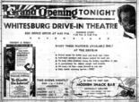 A playbill from Whitesburg Drive-In Theater when it opened in 1949. (Contributed by hsvmovies.com)
