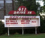 The 411 Drive-In Theater was opened by Emory Johnson in 1953 but it eventually closed. Johnson and his sons reopened the theater in 2001, according to the theater's website. (Contributed by 411 Drive-In Theater)