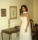 The writer, Kelly Caldwell Kazek, before her Grissom High School prom. (Kelly Kazek/kkazek@al.com)