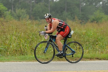Meredith Atwood competed in her first triathlon in 2010. (Meredith Atwood)