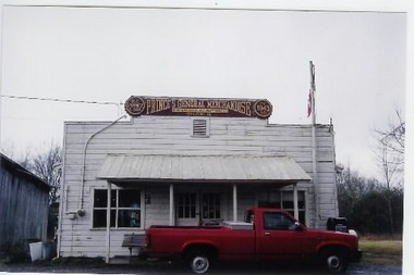 Judy Prince's father, Pete Prince, started Prince's General Merchandise Store in 1943 in the Estilfork are of Paint Rock Valley, Ala. (Courtesy of Judy Prince)