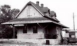 The passenger depot in Scottsboro was sold to a private citizen in 1964. (Contributed y Scottsboro Depot Museum)