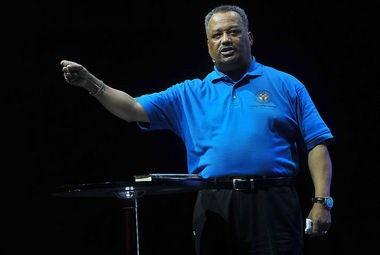 The Rev. Fred Luter spoke June 14, 2013 at the Gridiron Men's Conference in Birmingham, Ala. (Photo by Tamika Moore/tmoore@al.com)