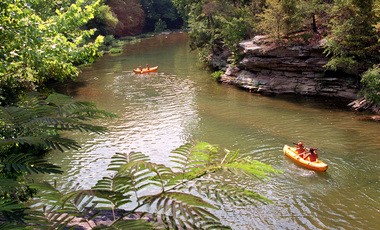 It's hot and Alabamians are flocking to their favorite local swimming hole to cool off, much in the way that our forebears did. Turkey Creek Nature Preserve north of Birmingham is just such a popular spot to beat the heat. (File photo)