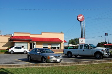 Jack's, off the Interstate 59 exit in Collinsville, serves as an early morning meeting place for local movers and shakers. (Nathan Simone/Living Democracy Community Reporter)