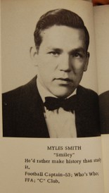 Myles Smith, Collinsville community partner with Living Democracy, as he appeared in 1954. (Nathan Simone/Living Democracy Community Reporter)
