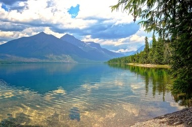 McDonald Lake Glacier National Park (Boris Datnow)