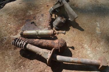 Industrial Artifacts Strewn Around Mine #10 (Boris Datnow)