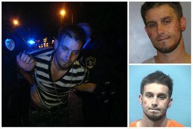 After his latest arrest on Tuesday night, Aug. 20, 2013, Evangelist Matt Pitt now hasseveral jail mugshots.