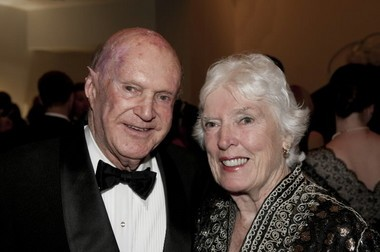 Caldwell Marks with his wife, Alice, in 2010. (File)