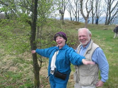 Anne and Jack Hamilton visited Ireland in 2003. (File)