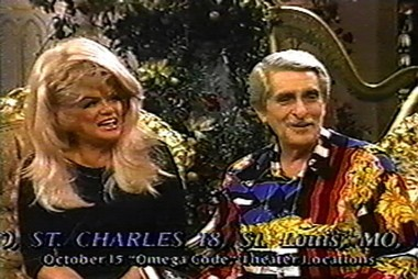 Paul and Jan Crouch, founders of the Trinity Broadcast Network, raise funds during an on-air telethon. (File)