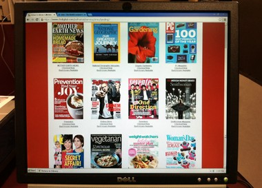 Pelham Library's new Zinio online magazine service offers two dozen titles available for Shelby County Public Library cardholders to access for free. (Martin J. Reed / mreed@al.com)