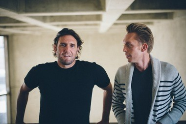 """Joshua Millburn, right,and Ryan Nicodemus, left,co-authors of the memoir, """"Everything That Remains,"""" call themselves """"The Minimalists."""" They'll be speaking on Tuesday, Feb. 11, at Church Street Coffee and Books in Mountain Brook. (Courtesy)"""