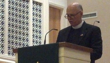 The Rev. J. Barry Vaughn preaches at a church in Hoover. (Photo by Jon Anderson/janderson@al.com)