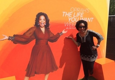 I spent a weekend with Oprah Winfrey and left ready to move mountains. Photo credit: Sonya Boatwright