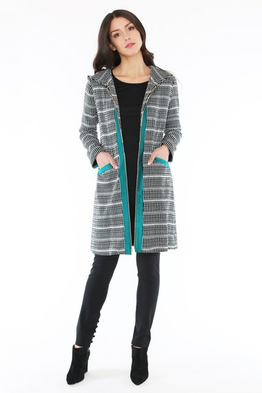 by SMITH'S Bleecker coat is a popular piece in Smith Sinrod's fall line. Photo credit: Special