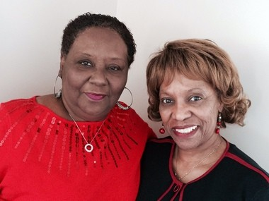 Gwendolyn Sanders-Gamble, left, and Janice Kelsey were arrested, on separate occasions, for marching for civil rights in Birmingham's Kelly Ingram Park in 1963. In 2014, the women learned that a New York fire fighters' union issued a resolution, condemning actions that forced Birmingham fire fighters to spray young demonstrators with fire hoses. The women will present a copy of the resolution on Thursday, Feb. 12 at Smithfield Library.