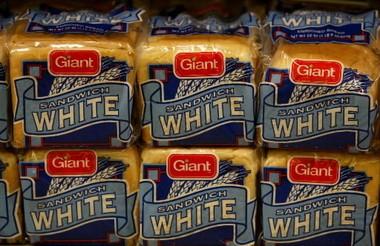 White bread will do just fine.