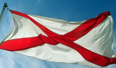 The Alabama state flag (Eric Schultz/eschultz@al.com)