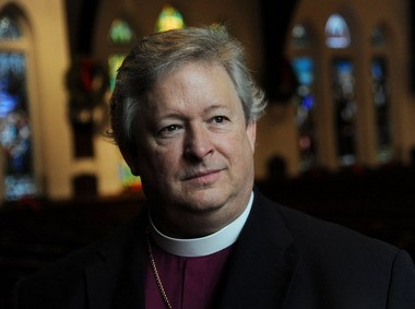 Bishop Kee Sloan, head of the Episcopal Diocese of Alabama, said he's ready to allow same-sex weddings in Episcopal churches. The Episcopal Church voted July 1 to allow gay marriage.