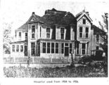 Mollie Teal was born in Huntsville Aug. 20, 1852, and grew up to become one of the city's wealthiest madams. She ran a bordello at the corner of Gatlin and St. Clair streets in a 10-room Victorian mansion, shown here. (Source: Huntsville Madison County Public Library)