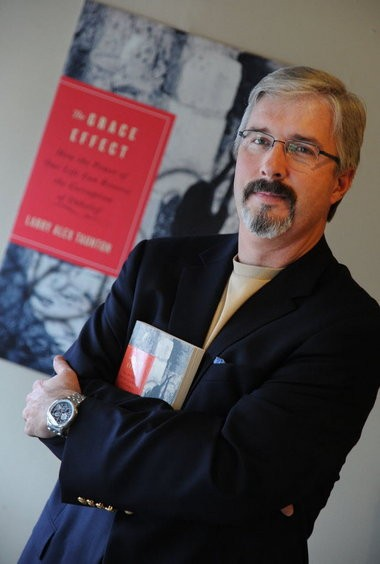 Larry Taunton, founder of the Fixed Point Foundation, was seriously injured in a bicycle accident on Saturday, Oct. 10, 2015, in Birmingham, Ala.