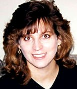 This photo taken several years after high school graduation show how Kelly Kazek's bangs might have looked before the Great Bunsen Burner Incident.