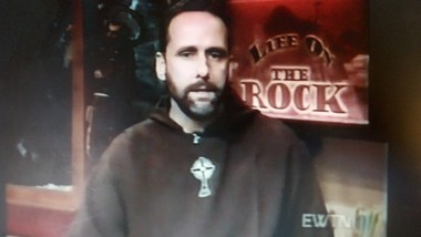 "David Stone, 55, formerly known as Father Frances Mary Stone, was host of the TV program ""Life on the Rock"" on Eternal Word Television Network. He fathered a child born in 2008. The mother was fired from EWTN and Stone was put on long-term leave of absence, according to Jefferson County court documents. (Screenshot from the EWTN program 'Life on the Rock)"