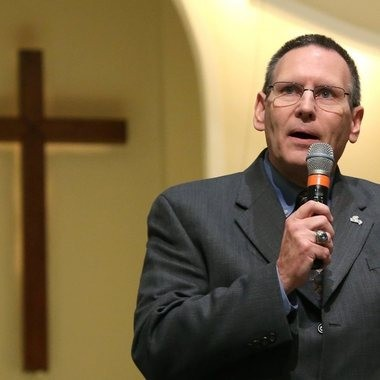 The Rev. Joe Godfrey, executive director of ALCAP, will lead churches in the fight against a state lottery in Alabama.
