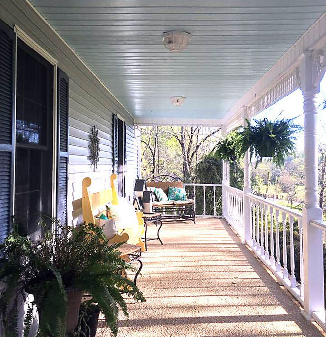 The legend of haint blue: Does a painted porch keep spirits