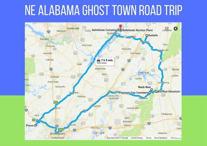 Northeast Road Trip >> Take A Ghost Town Road Trip Through Northeast Alabama With This