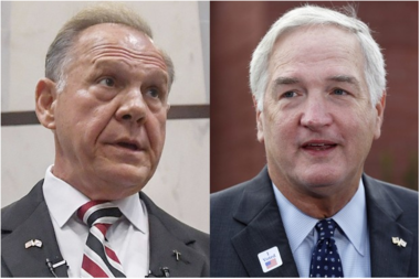 Tuesday's Republican primary special election runoff pits Roy Moore, a Baptist, against Luther Strange, an Episcopalian.