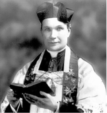 The Rev. James E. Coyle, former pastor of St. Paul's Cathedral, was shot to death in 1921.