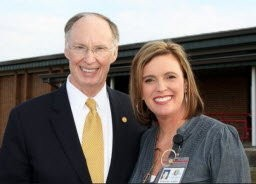 Gov. Robert Bentley and his top advisor, Rebekah Mason, no longer attend First Baptist Church of Tuscaloosa, according to a statement from the pastor. (Glenn Collins/HBTV.us)