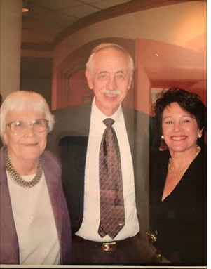 Harper Lee, Wayne Flynt and Cathy Friedman stand together in 2006, when Lee came to Birmingham to accept a Lifetime Achievement Award from The Birmingham Pledge. Friedman was co-chair of the event.