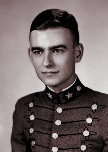 Jonathan Myrick Daniels graduated from the Virginia Military Institute, Class of 1961. Daniels was 26 years old when he came to Alabama work for voter registration in the civil rights movement.