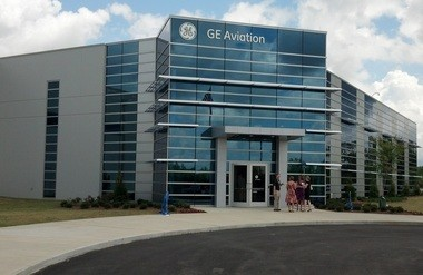 Alabama Gov. Robert Bentley and other state and Lee County leaders celebrated the grand opening of GE Aviation's 300,000-square-foot Auburn manufacturing on Monday, April 29, 2013. The plant will produce components for jet engines in commercial and military aircraft and is expected to employ as many as 400 by the end of the decade. (ed.enoch|eenoch@al.com)