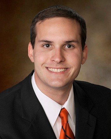 Paul Bergen has been selected as a Marcus L. Urann Fellow, an award presented by the Honor Society of Phi Kappa Phi to members entering the first year of graduate or professional school. (Contributed by Auburn University)