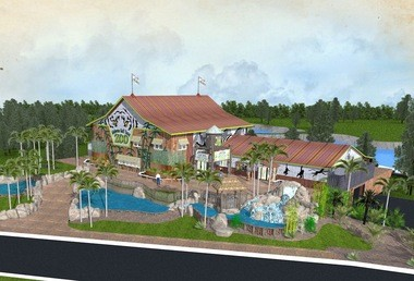Pictured here are master plans of the new location of the Alabama Gulf Coast Zoo, located on County Road 6 in Gulf Shores, Ala. (Courtesy of the Alabama Gulf Coast Zoo)