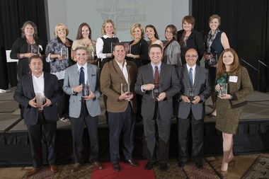 The winners of the 2014 Birmingham Business Alliance Small Business Awards.