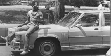 Part of the experience of going to a game at Legion Field was interacting with the neighborhood residents, some of whom hopped on the hoods of fans' cars to encourage them to park in their yards. (Birmingham News file)