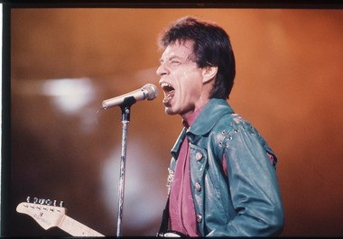 Mick Jagger and the Rolling Stones played Legion Field three times, including this stop on their Steel Wheels tour in 1989. (Birmingham News file/Bernard Troncale)