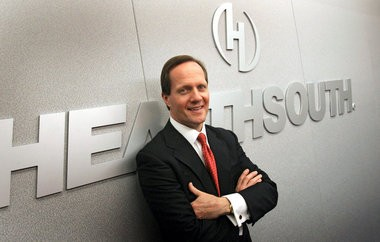 HealthSouth CEO Jay Grinney in 2010 (Birmingham News file).