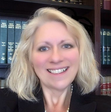 Diane Dunning, Assistant Attorney General, Alabama Department of Human Resources (Courtesy Diane Dunning)