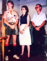 Ronald Bert Smith awarded Eagle Scout