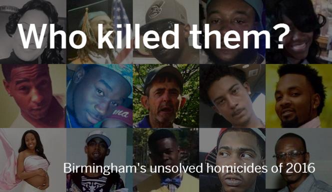 Who killed them? Birmingham's unsolved homicides of 2016 - al com