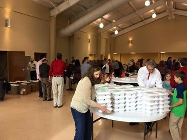 Jane Walker is a member of Hartselle Church of Christ, a 350-member congregation that served 860 meals to needy, homeless and shut-ins on Christmas Day.